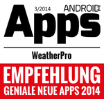 WeatherPro for Android - AndroidMag 07/2014
