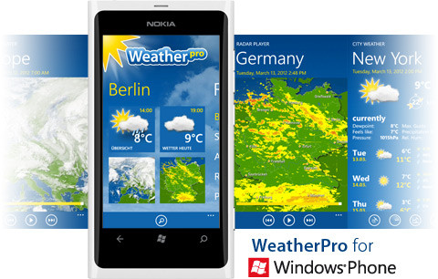 WeatherPro for Windows Phone