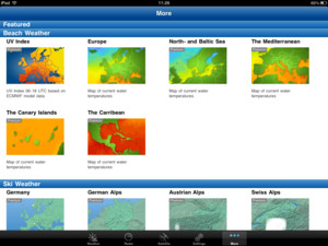 WeatherPro for iPad - Beach Weather
